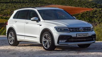 White Volkswagen Tiguan Wallpaper 65862