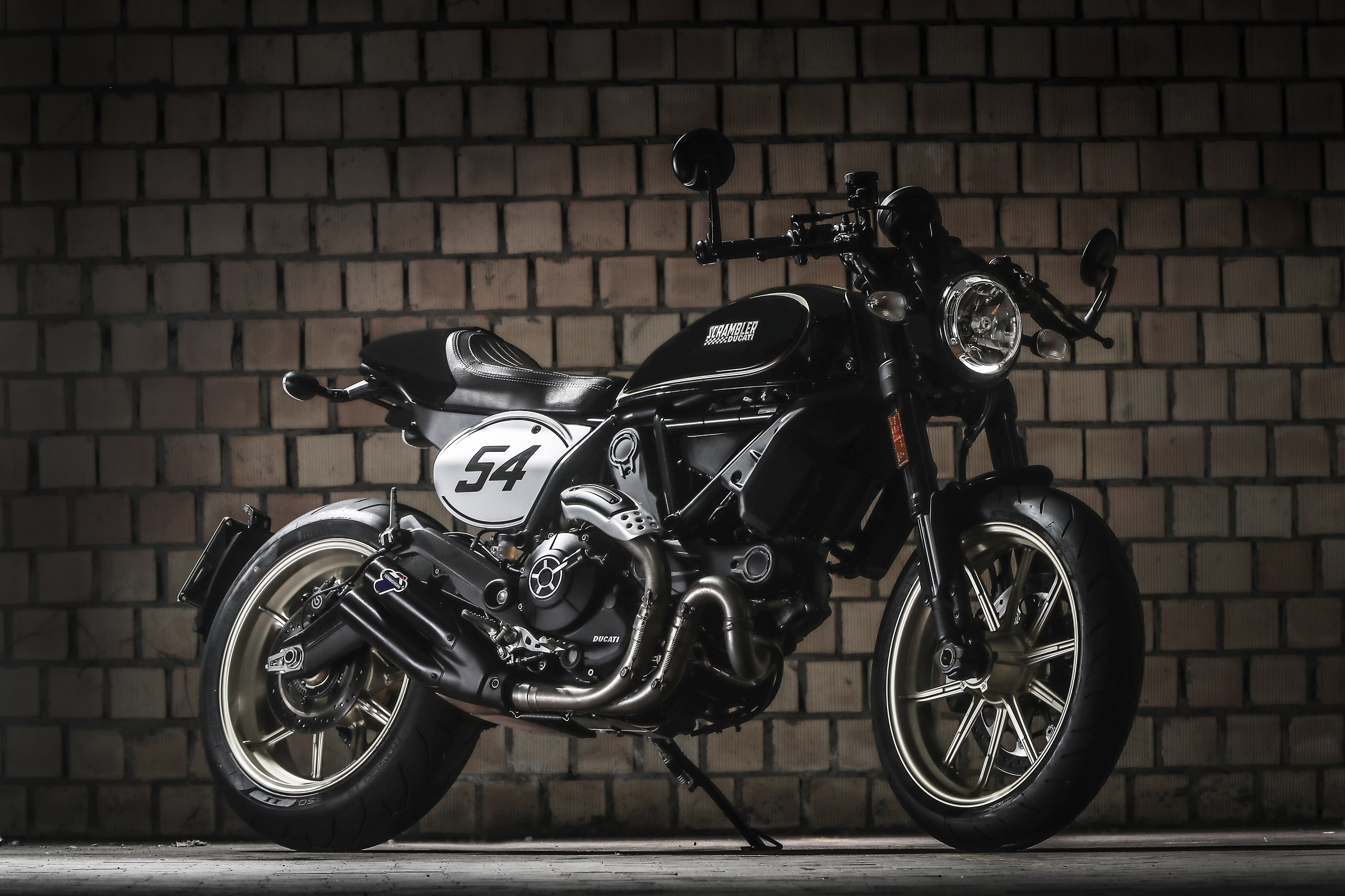 ducati scrambler bike background wallpaper 65285