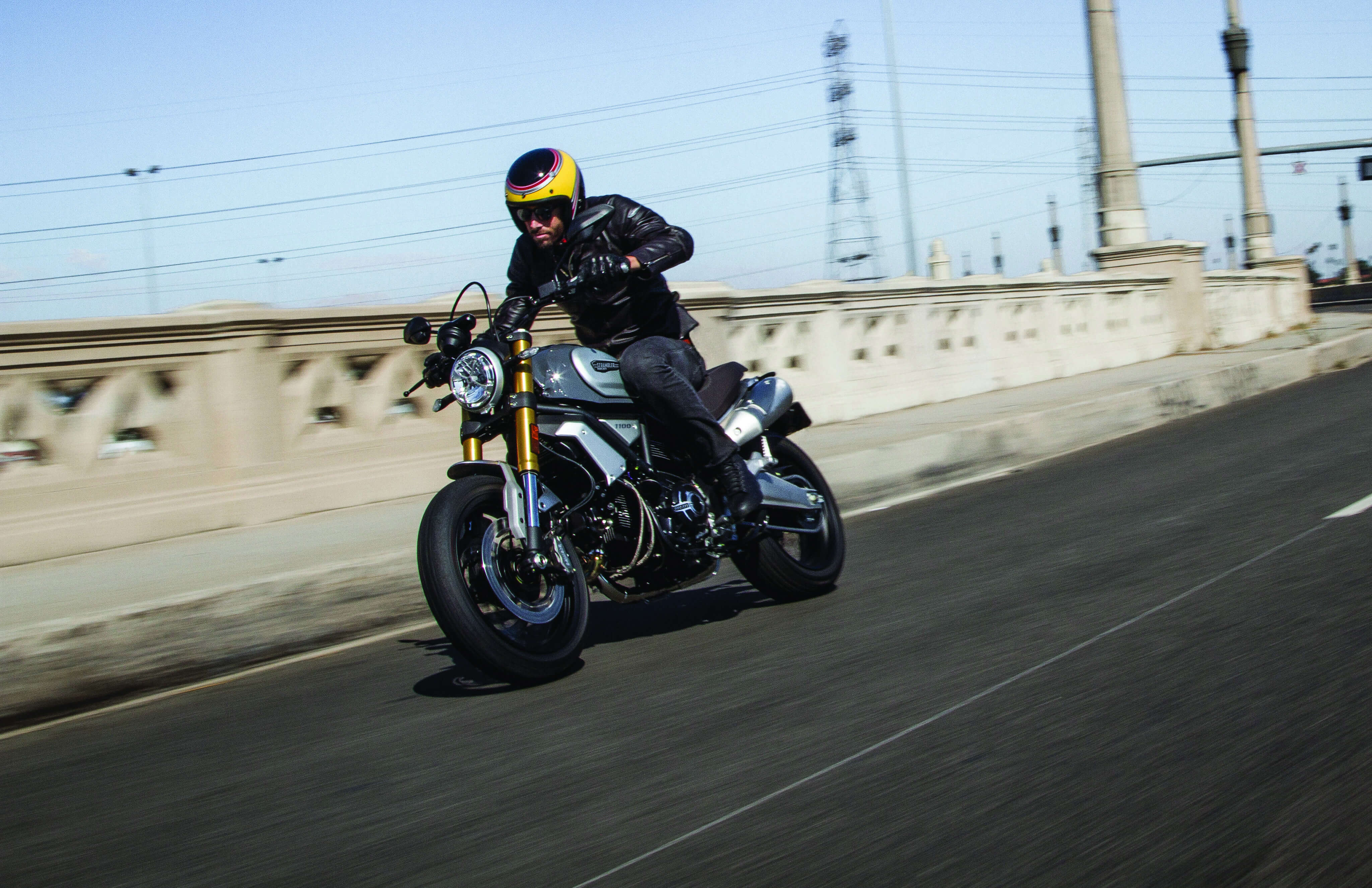ducati scrambler rolling shot photos wallpaper 65289