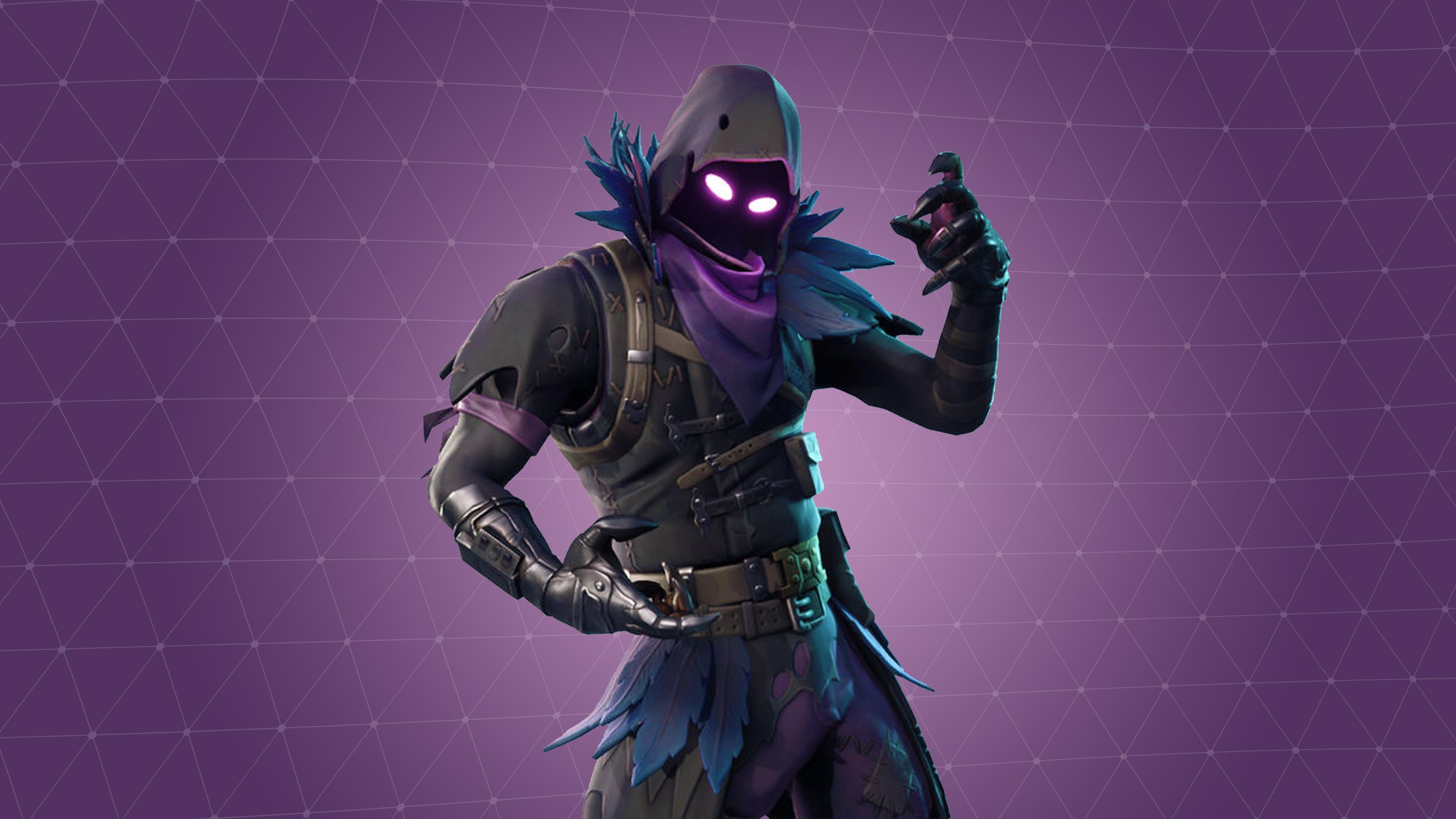 fortnite raven skin wallpaper background 63808