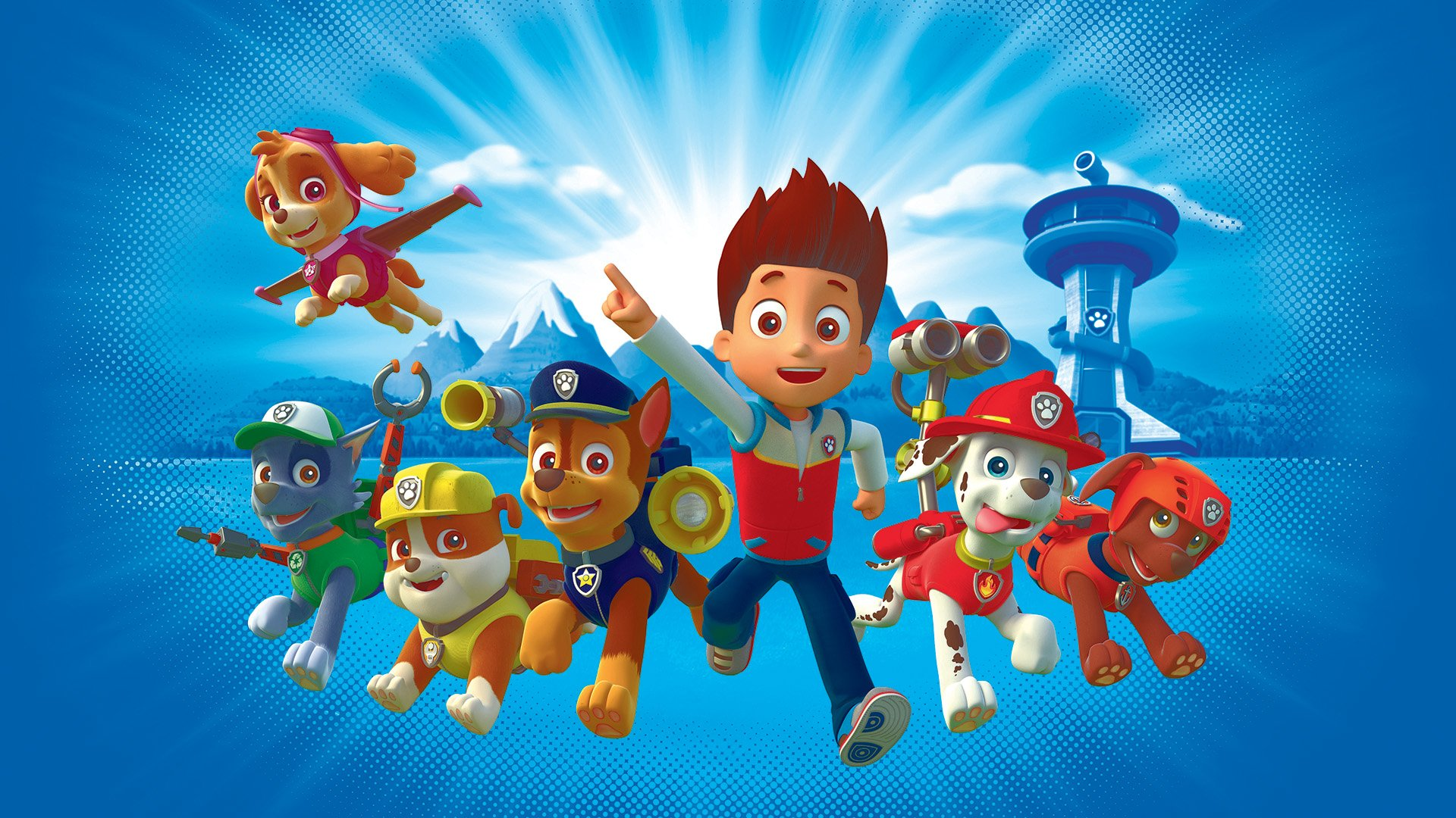 paw patrol desktop background wallpaper 64885