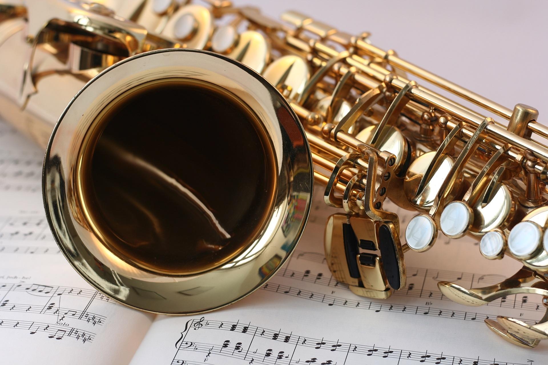 saxophone music desktop hd wallpaper 63174