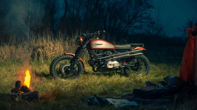 4K Ducati Scrambler Bike Wallpaper 65287