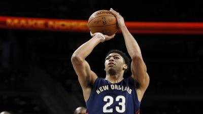 Anthony Davis Shooting Wallpaper 63661