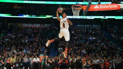 Damian Lillard Dunking HD Wallpaper 63878