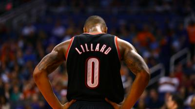 Damian Lillard Jersey Wallpaper Background 63874