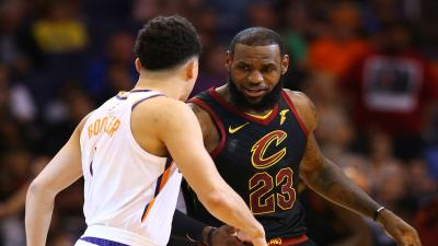 Devin Booker and LeBron James Wallpaper 66387