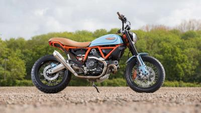 Ducati Scrambler Widescreen HD Wallpaper 65288
