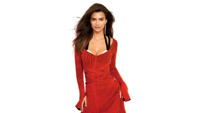 Emily Ratajkowski Red Dress Wallpaper 66158