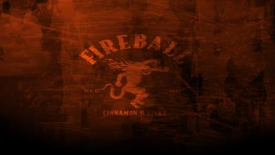 Fireball Whisky Logo HD Background Wallpaper 66389