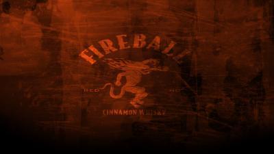 Fireball Whisky Logo HD Background Wallpaper 66389