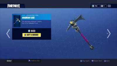 Fortnite Anarchy Axe Wallpaper 65213
