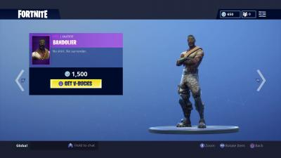 Fortnite Bandolier Skin Wallpaper 65203