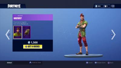 Fortnite Hacivat Skin Wallpaper 65216