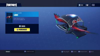 Fortnite Libre Glider Wallpaper 65217
