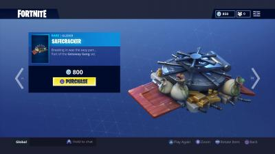 Fortnite Safecracker Glider Wallpaper 65219