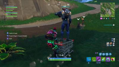 Fortnite Shopping Cart HD Wallpaper 63891