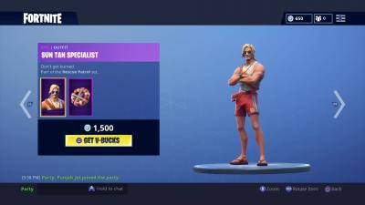 Fortnite Sun Tan Specialist Wallpaper 65202