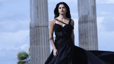 Katrina Kaif Black Dress Wallpaper 65369