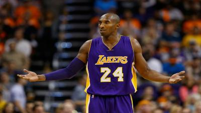 Kobe Bryant Complaining Widescreen Wallpaper 63799