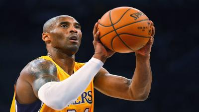Kobe Bryant Shooting Wide Wallpaper 63801