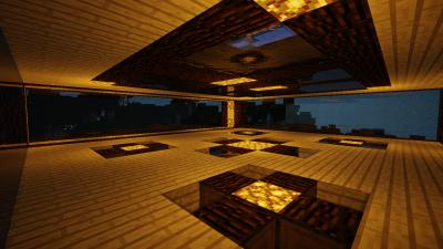 Minecraft Wood House lvl2 Glass 63239