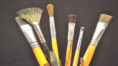 Paint Brush Set Wallpaper Background 63185