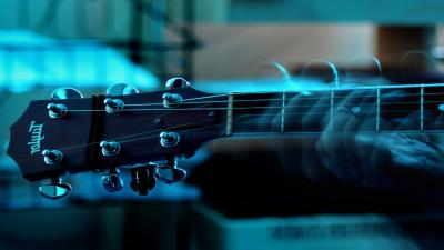 Playing Guitar Wallpaper 66470