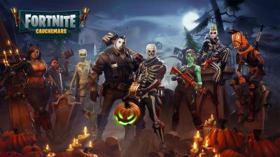 Fortnite Halloween Characters Wallpaper 64947