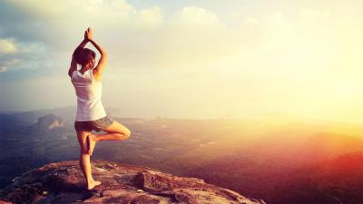 Sunrise Yoga Wallpaper 63178
