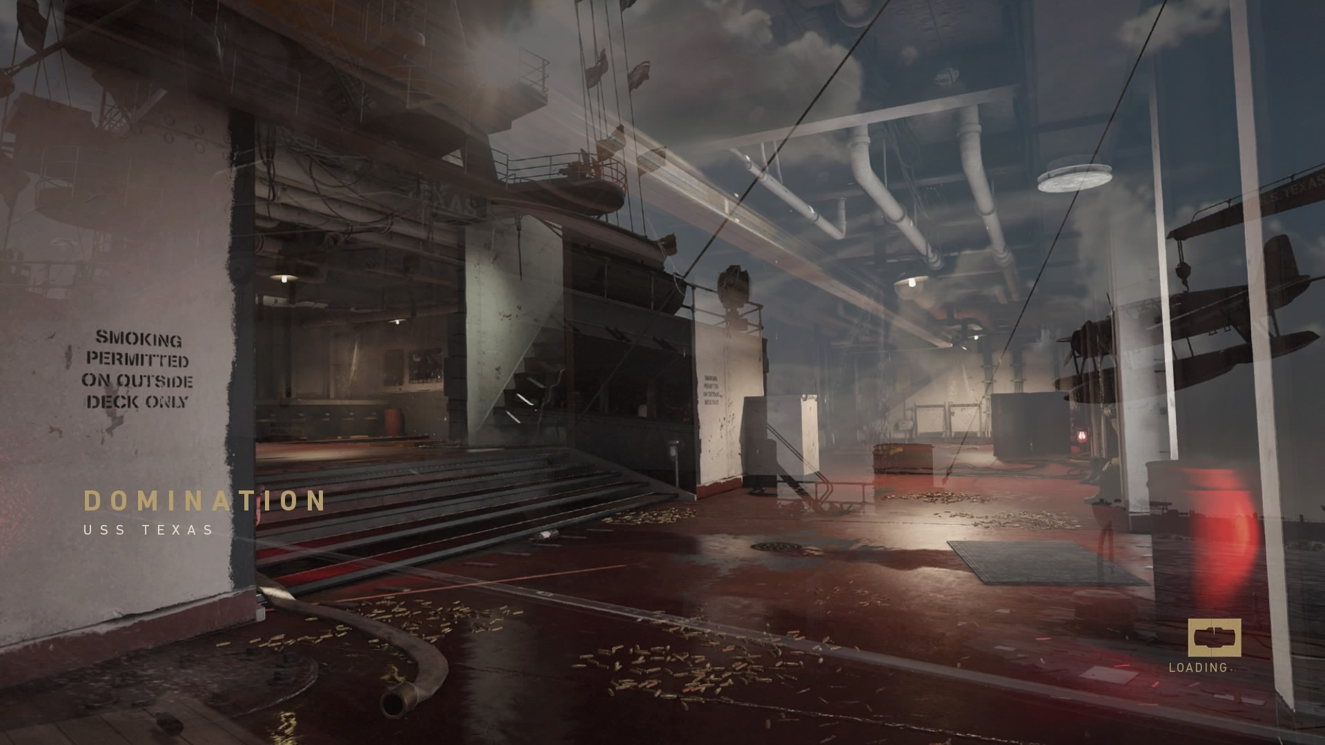 call of duty wwii uss texas map loading screen wallpaper 64322