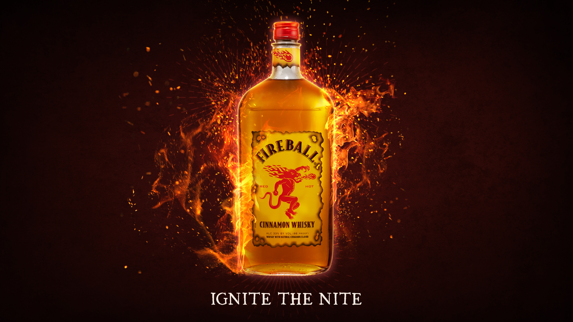 fireball whisky desktop wallpaper 66394