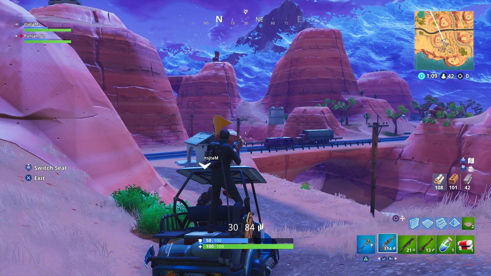 fortnite duos golf cart wallpaper 64531