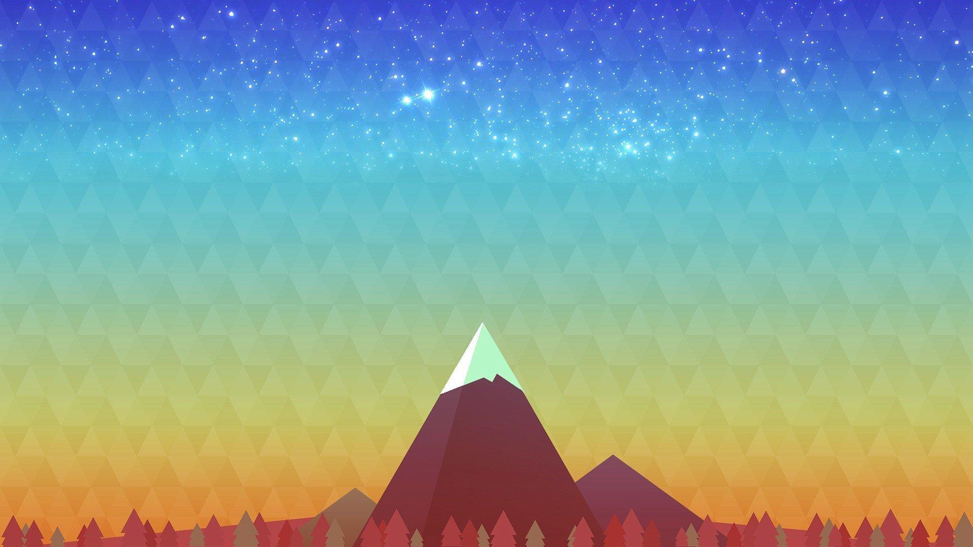 Beautiful Wallpaper Mountain Art - mountain-peak-digital-art-wallpaper-62627-64603-hd-wallpapers  You Should Have_369344.jpg