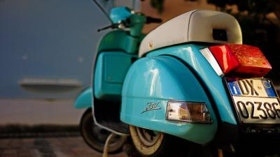 Blue Scooter Wallpaper Pictures 62830