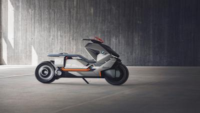 BMW Concept Scooter Wide Wallpaper 62826
