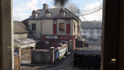 Call of Duty WWII Sainte Marie Du Mont Map Wallpaper 64321