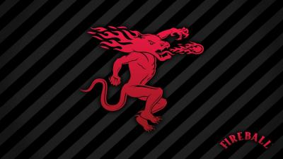 Fireball Whisky Logo Wallpaper 66390