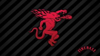 Fireball Whisky Logo Wallpaper 66390