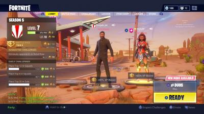 Fortnite John Wick Lobby Wallpaper 64524