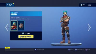 Fortnite Ruckus Skin Wallpaper 65811