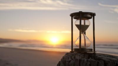 Hourglass Sunset Widescreen Background Wallpaper 65047