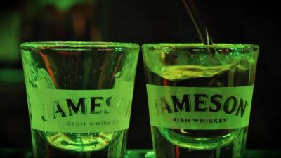 Jameson Irish Whisky Glasses Wallpaper 66397