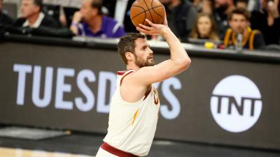 Kevin Love Shooting Computer Wallpaper 63699
