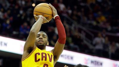 Kyrie Irving Shooting Wallpaper 63687