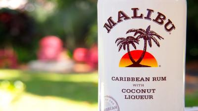 Malibu Rum Bottle HD Wallpaper 66409