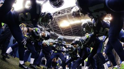 NFL Seahawks Huddle Wallpaper 65043