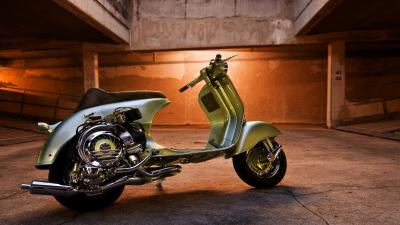 Vespa Bike HD Wallpaper 62822