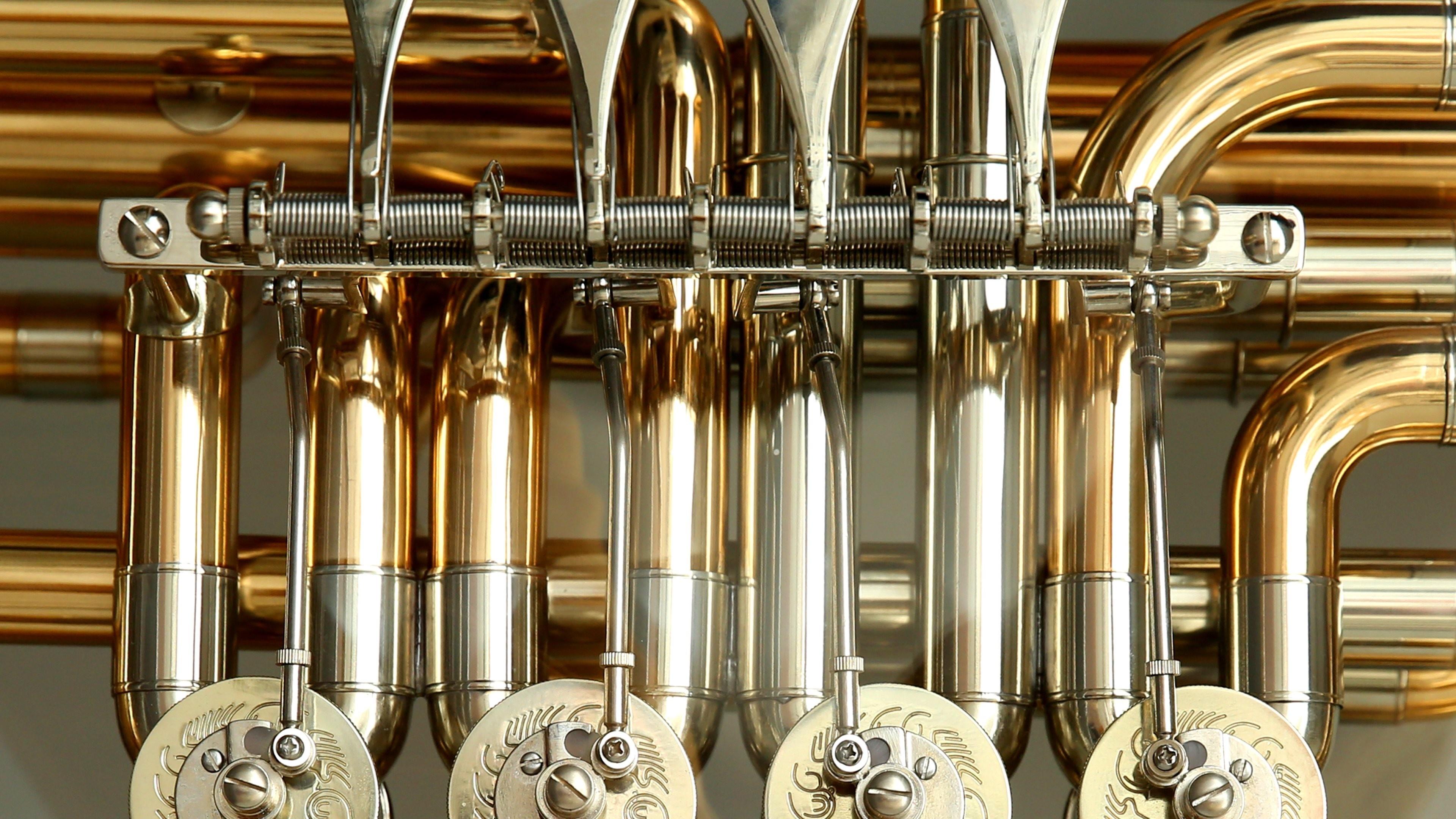 tuba up close wallpaper background 63204