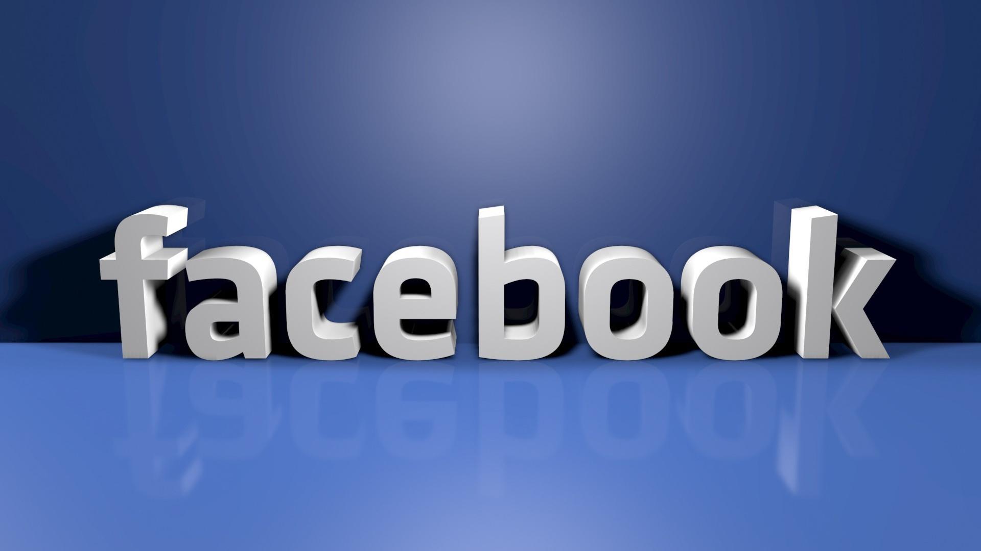 3d facebook logo wallpaper 62726